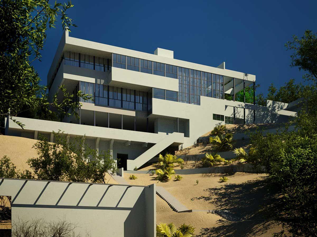 De film-noir klassieker L.A. Confidential met Kevin Spacey en Russel Crowe speelt zich in dit huis af. Het staat ook daadwerkelijk in Los Angeles, in de wijk Los Feliz.