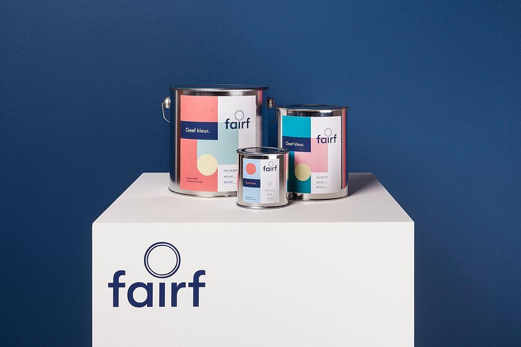 Fairf, duurzame verf uit Nederland