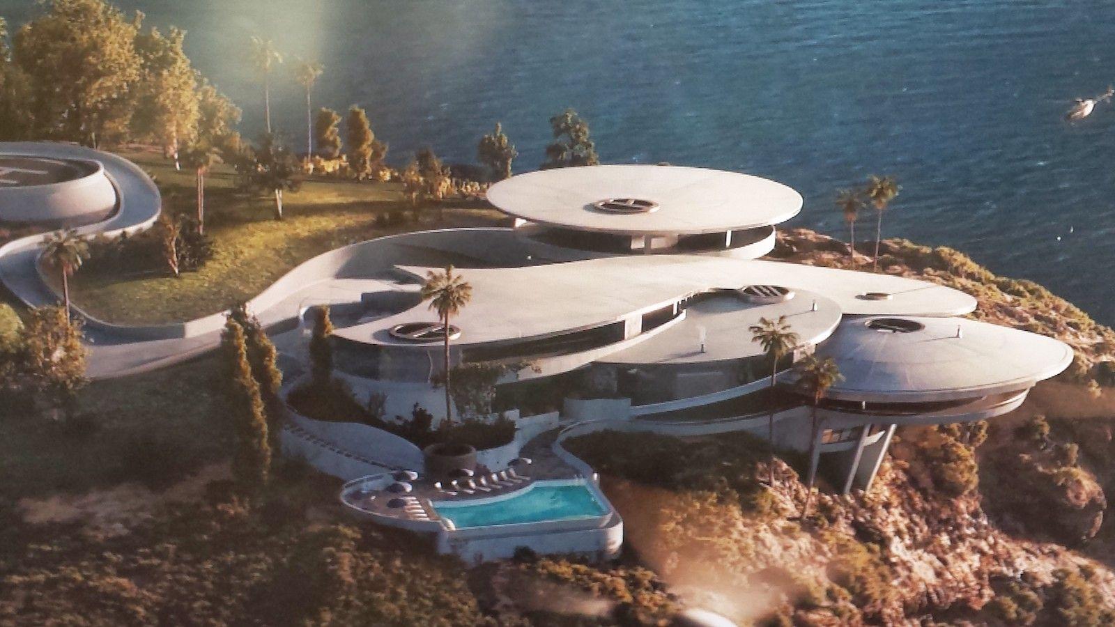 Een echt film-huis. Het bestaat niet echt, maar het Iron Man huis is wel geinspireerd op een bestaand huis. Dat huis staat niet in Malibu, zoals in de film, maar in La Jolla.