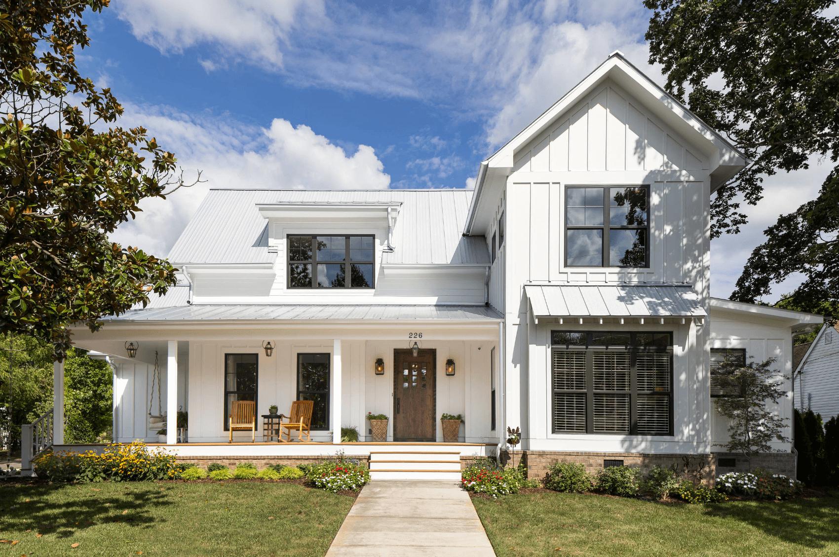 Wit huis met landelijk gevoel