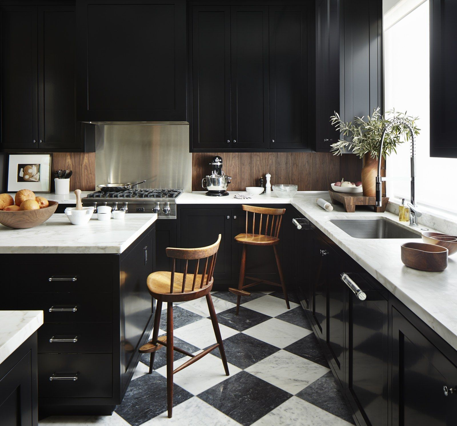 Keuken in hoogglans