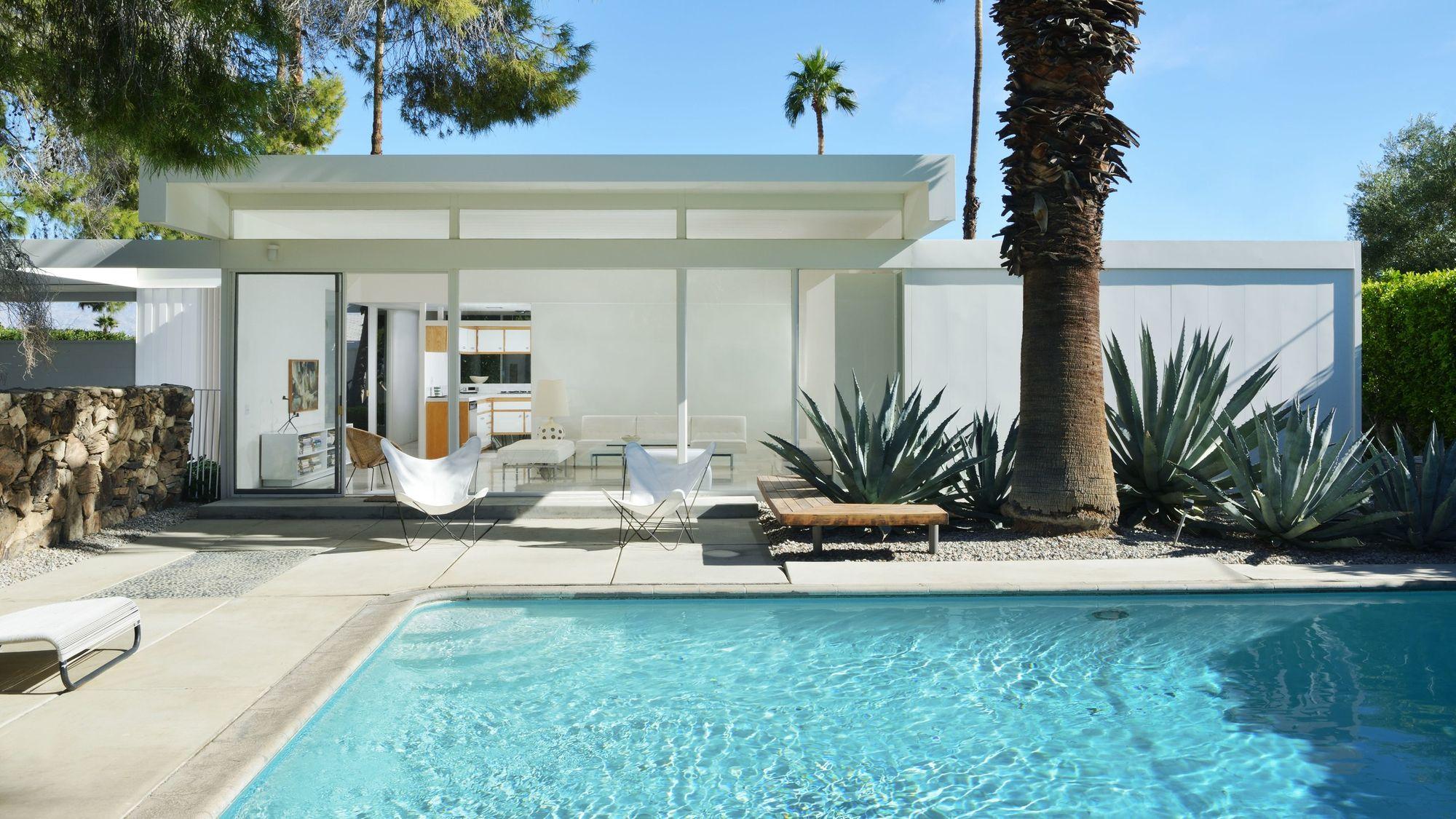 Dit huis in Palm Springs moet je zien