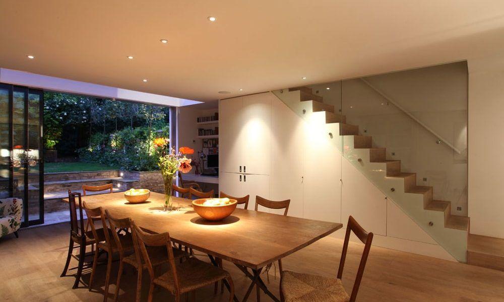 Inbouwspots bepalen de sfeer in huis