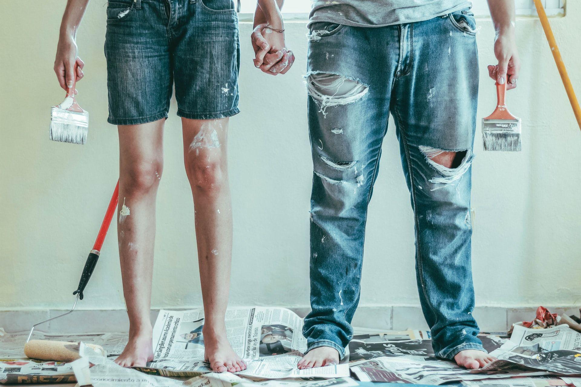 Behang verven - Lees deze tips voor behang overschilderen